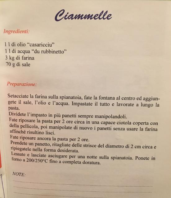 ricetta ciambelle santangelo